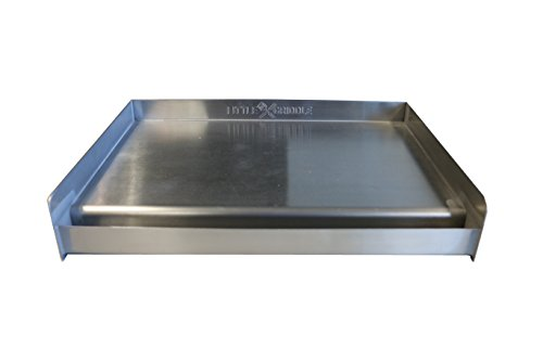 Sizzle-Q SQ180 100% Stainless Steel Universal Griddle...