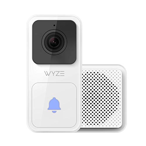 Wyze Video Doorbell (Chime Included), 1080p HD Video,...