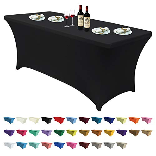 ABCCANOPY Spandex Table Cover 6 ft. Fitted 30+ Colors...