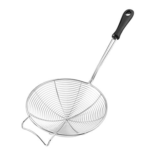 COMFECTO Asian Spider Kitchen Strainer 6.1 inch with...