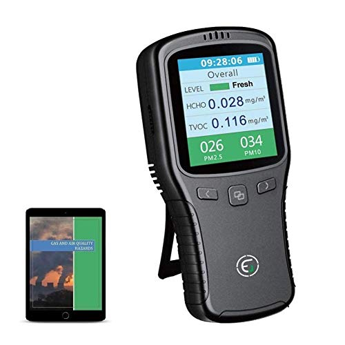 Air Quality Monitor, Formaldehyde Detector, Pollution...