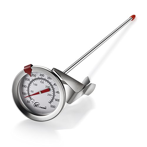 KT THERMO Deep Fry Thermometer With Instant Read,Dial...