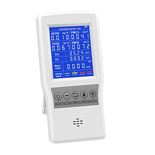 HYVQDNM Air Quality Monitor Indoor for CO2 CO...