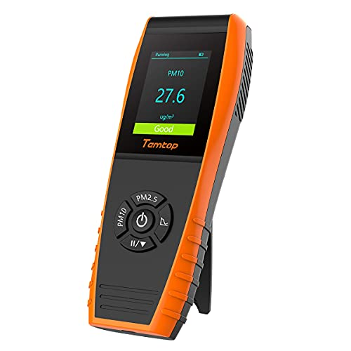Temtop P600 Air Quality Monitor Professional Particle...
