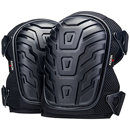 NoCry Professional Knee Pads with Heavy Duty Foam...