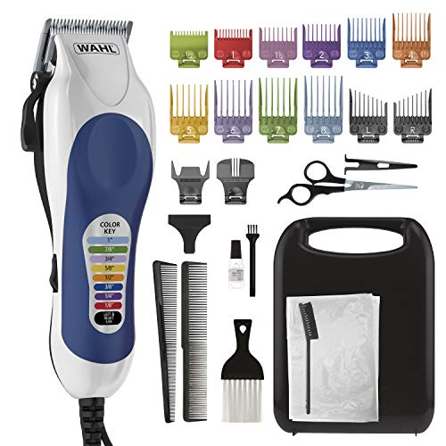 Wahl Corded Clipper Color Pro Complete Hair Cutting Kit...