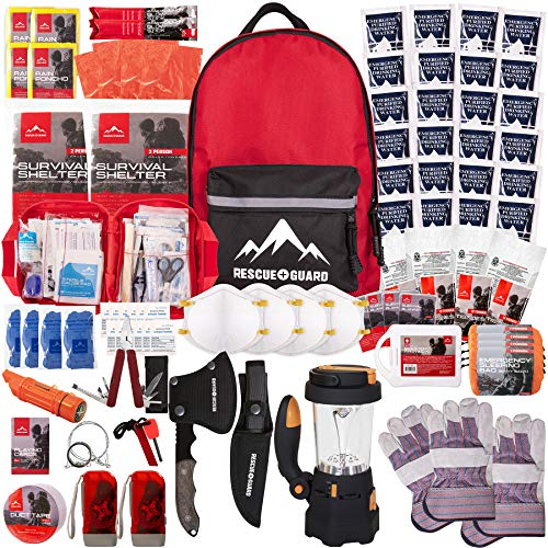 RESCUE GUARD; First Aid Kit, Hurricane Kit, Disaster...