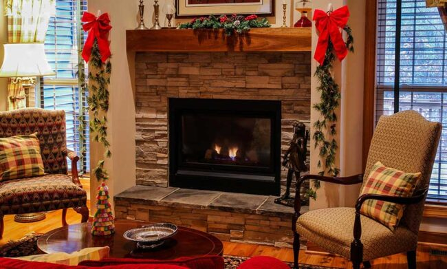 How To Install Mantel On Uneven Stone, Floating Mantel On Uneven Stone Fireplace