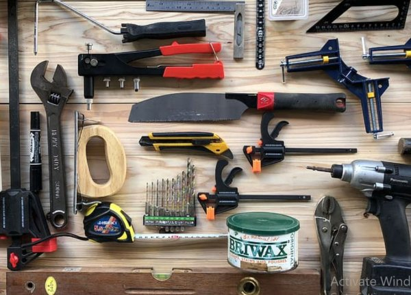 tools and equipment for my motor home